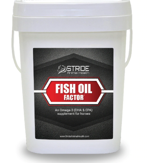 SAH Fish Oil Factor (15lb Bucket- 68 Servings)