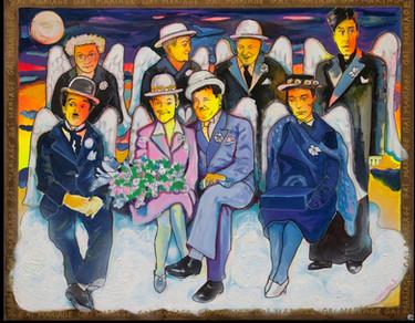 Gai Mariage - acrylique sur toile - 81x100