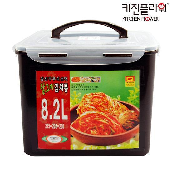 키친플라워 담그미 김치통 8.2L