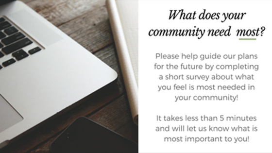 Community Needs Survey - 2017