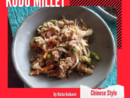 Kodo Millet Chinese Style