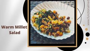 Warm Little Millet Salad