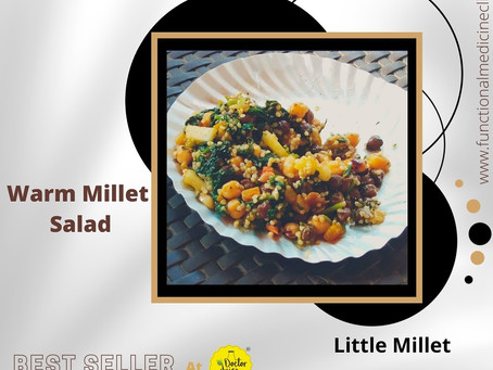 Warm Little Millet Salad