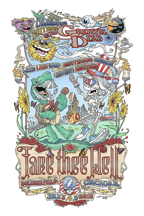 Fare Thee Well Print