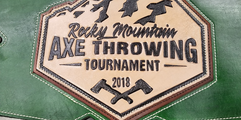 2nd Annual Rocky Mountain Axe Throwing Tournament