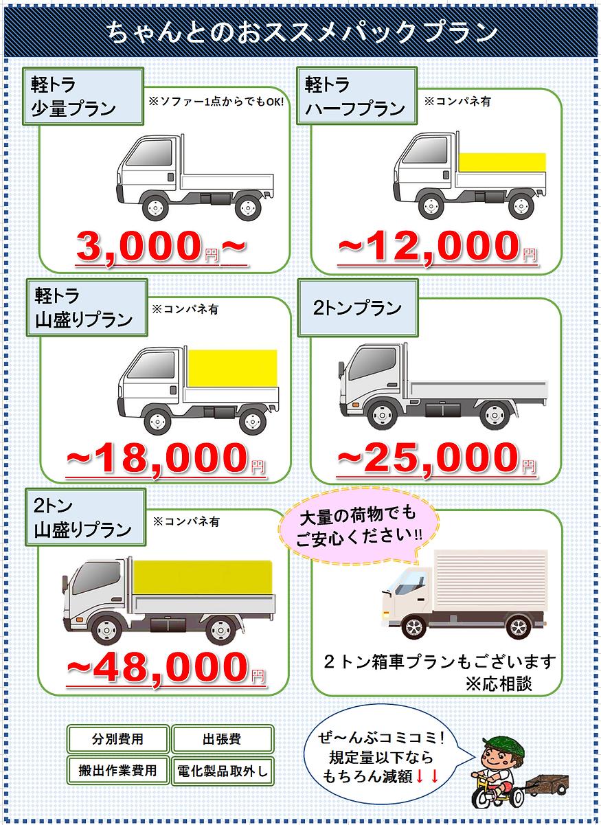香川県 徳島県 粗大ゴミ処分 不用品回収 業者 遺品整理 ちゃんとクリーンサービス