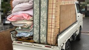 処分のしづらい大型の家具・寝具もちゃんとクリーンサービスにお任せ下さい^ ^