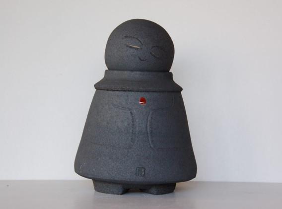 Jizo-26cm-gres-noir-