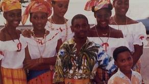 Les Antilles, la culture du madras au Gabon
