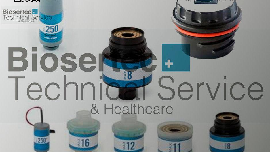 Celdas y sensores de O2