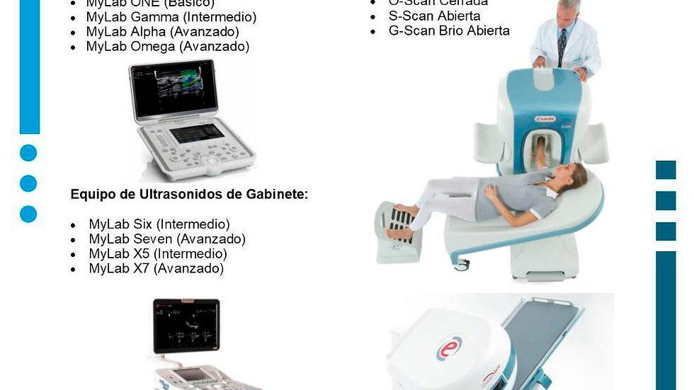 Ultrasonidos para diferentes especialidades ESAOTE