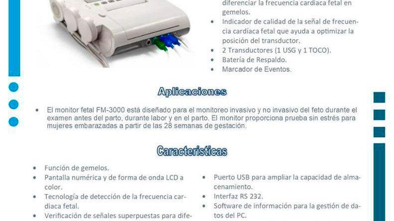 Tococardiografo FM-3000