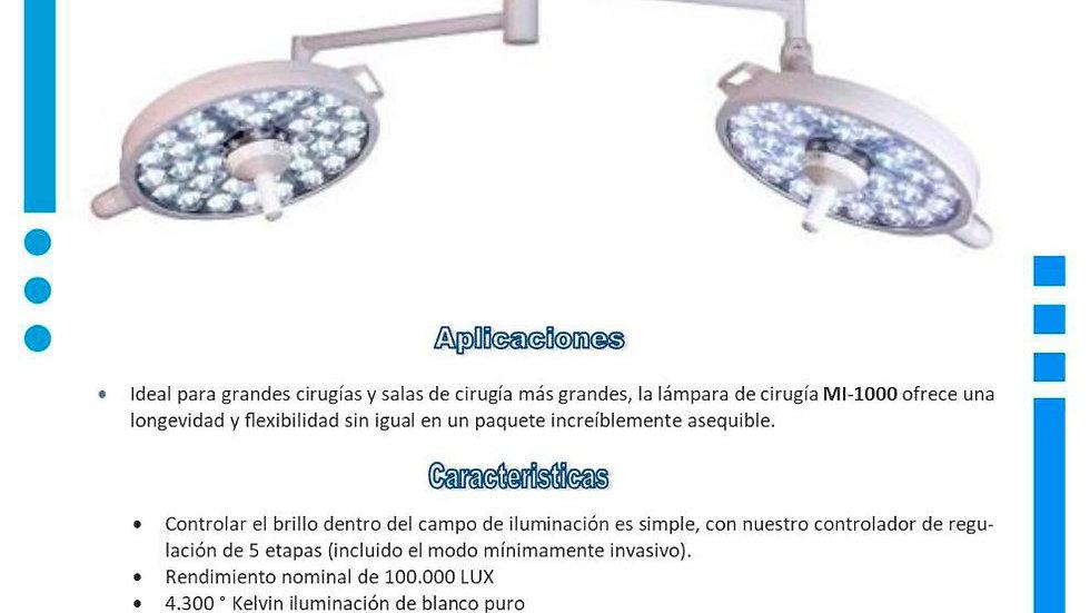 Lampara quirúrgica Doble