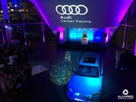 Iluminación, sonido, proyección y visuales para Audi Center Palma