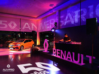 50th Renault anniversary and Clio presentation