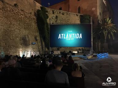 Proyección para Atlàntida Film Fest