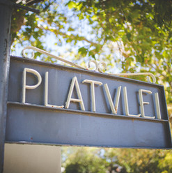 Platvlei Gate Entrance