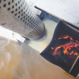 Wood Burner Hot Tub