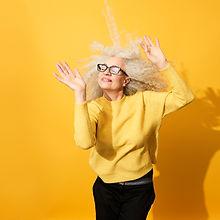 Senior femme danse