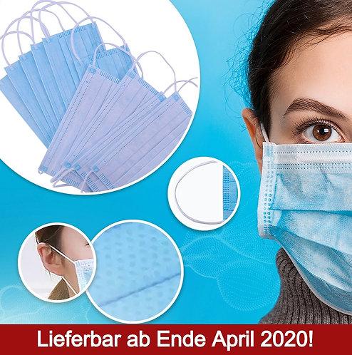 Einweg Mund-Nasen-Maske (50er-Pack) exkl. MwSt.