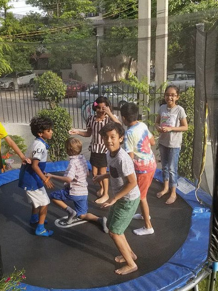 Trampoline fun_#celebratingchildhood #ce