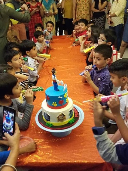 Its party time....ready for cake and lot