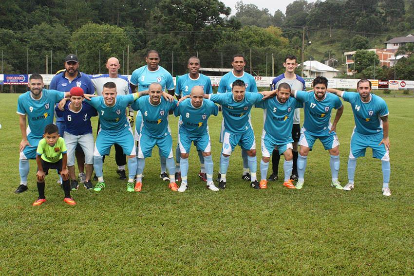 – Time do Olaria, que mantém a liderança na Copa Amigos/2016