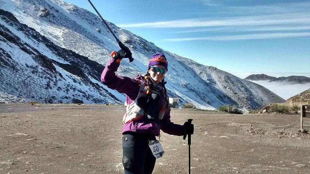 Atleta caxiense também participou da Prova Internacional Indomit, de 100 quilômetros, com clima abaixo de zero grau