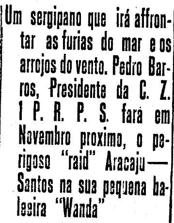 Avetura maritma -  Correio de Aracaju,  26 de julho de 1926 -  arquivo 000022.jp