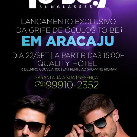 To Be!¡ Sunglasses chega a Aracaju