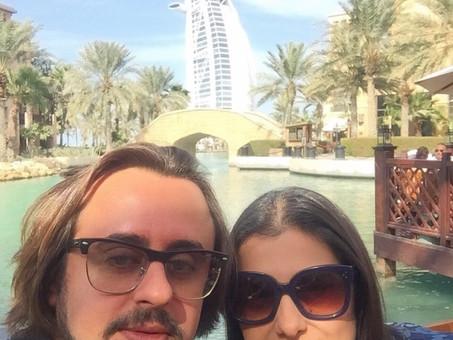 Em Dubai...