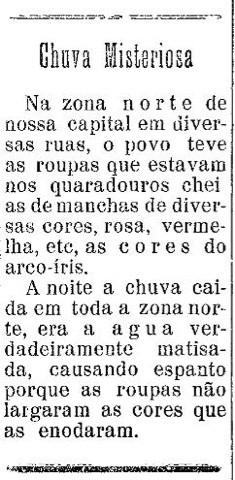 Publicado no jornal aracajuano O Tempo, em 9 de setembro de 1950.