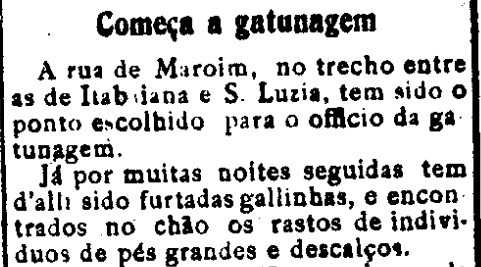 Começa_a_gatunagem_-_Diário_da_Manhã,_Aracaju_29_de_outubro_de_1915_-__arquiv
