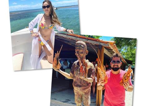 Juntinhos na Bahia!