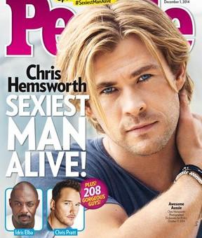 Revista People elege homem mais sexy do mundo 2014