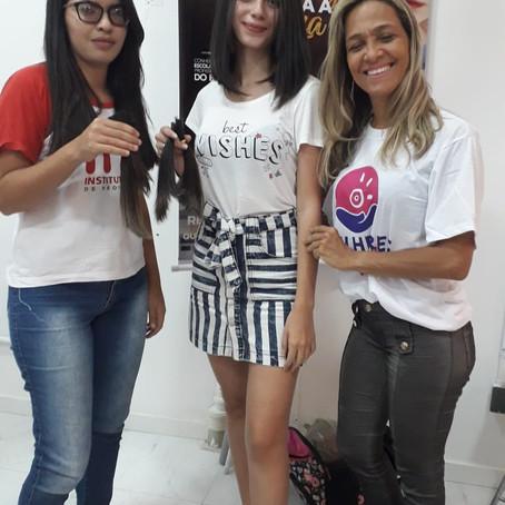 Em alusão ao Dia da Mulher, Shopping de Aracaju apoia campanha de doação de cabelo