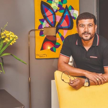 Arquiteto sergipano Wesley Lemos ganha destaque na Casa Vogue deste mês.