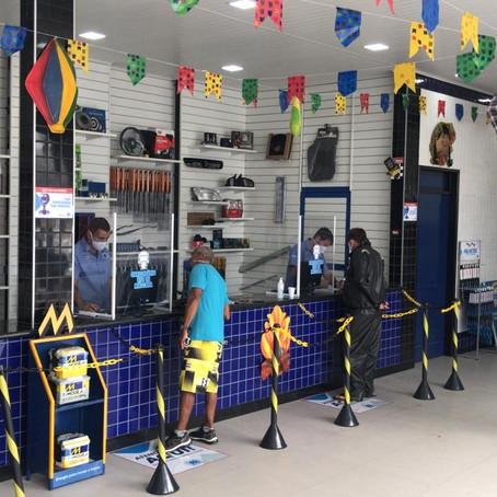 Filial da Auto Peças Macedo é inaugurada em Lagarto