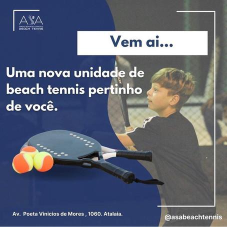 Bairro Atalaia ganha centro de Beach Tennis
