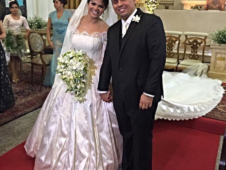 Sergipanos marcam presença no casamentão de Xand