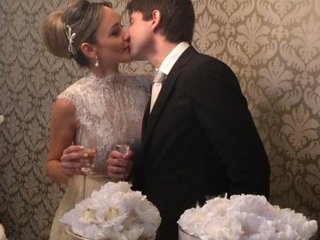Enfim, casados!