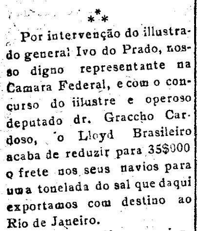 Ivo do Prado e Graccho - Correio de Aracaju, 25 de agosto de 1921.jpg