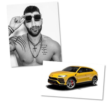 Gusttavo Lima aumenta sua coleção de carros.