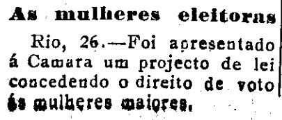 Votos das mulheres 0 Correio de Aracaju, 30 de outubro de 1921.jpg