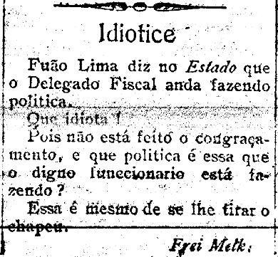 Idiotice - Correio de Aracaju, 10 de outubro de 1907.jpg