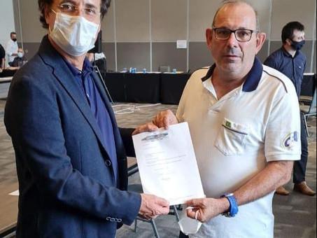 Giovanni Guerra é eleito presidente da CBA