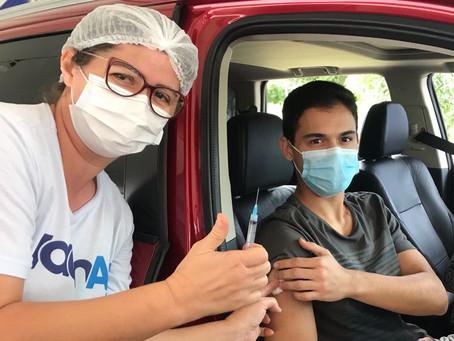 Aracaju chega a 80% da população vacinada contra a COVID