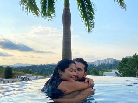 Thaynara OG e Gustavo Mioto reatam o namoro.