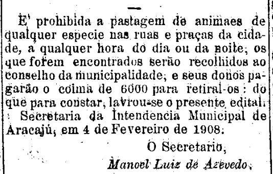 Animais_presos_-_Folha_de_Sergipe,_Aracaju_1_de_março_de_1908.jpg