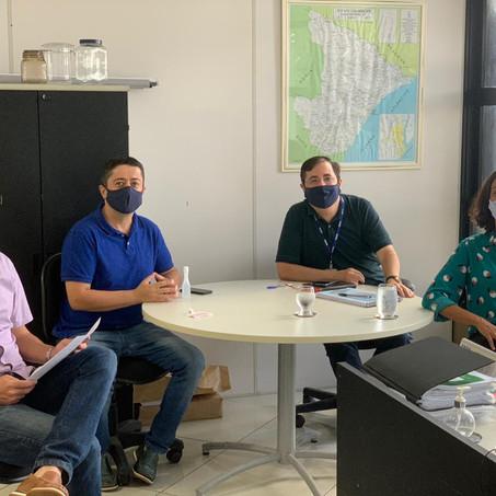 Diretoria da Abrape Sergipe se reúne com representantes do Comitê Gestor de Retomada Econômica do Go
